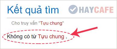 Tựu Chung không có trong từ điển tiếng Việt